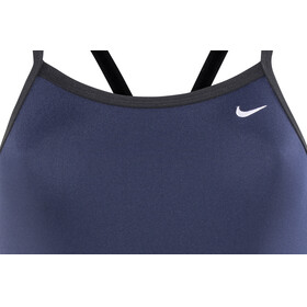 Nike Swim Poly Core Solid Swimsuit Women blue